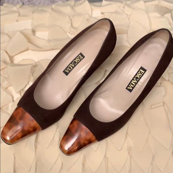 b8d90b0e77a26 ESCADA vintage shoes